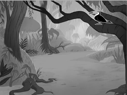 A Jungle Scene